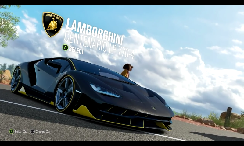 Lamborghini Centenario In Forza Horizon 3 Forza Forza Horizon 3
