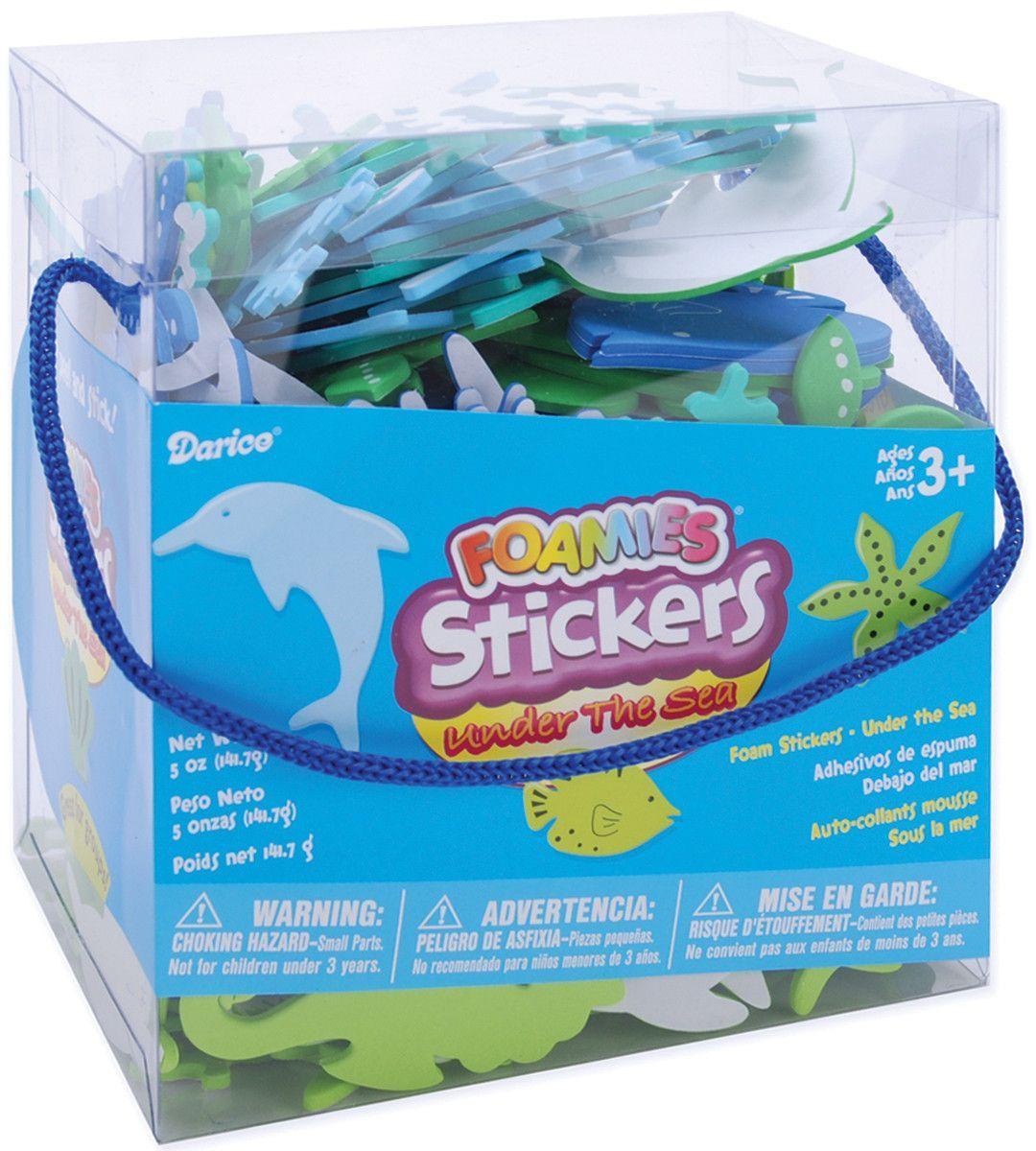 Foam Stickers 5oz-Under The Sea
