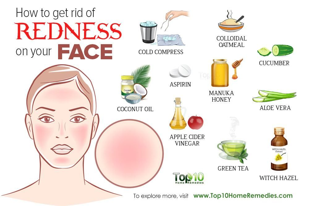 How to get rid of redness on face diy remedies redness