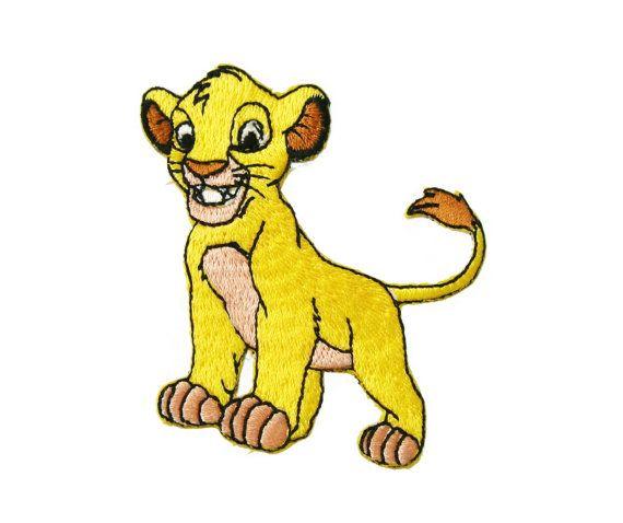 Terry Lion Iron On Applique x 1