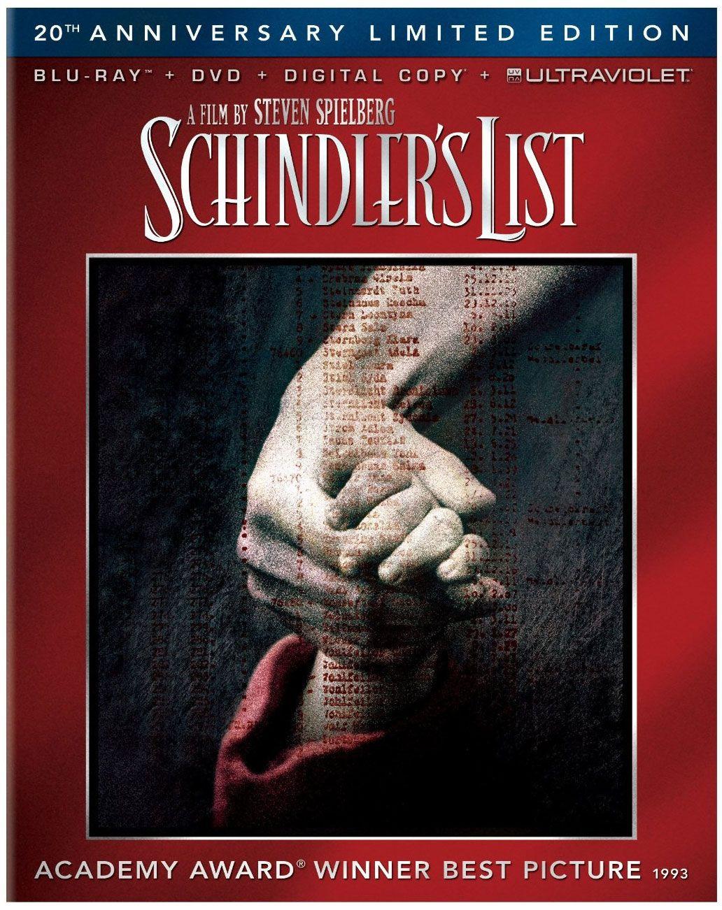 Atualizado Agora Vai A Lista De Schindler Em Blu Ray Para Marco