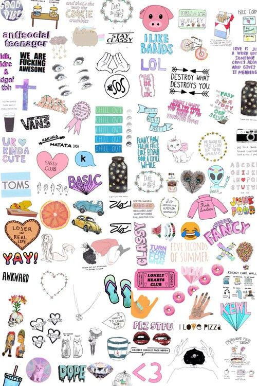Aesthetic Stickers Wallpaper Stickers Printable Stickers