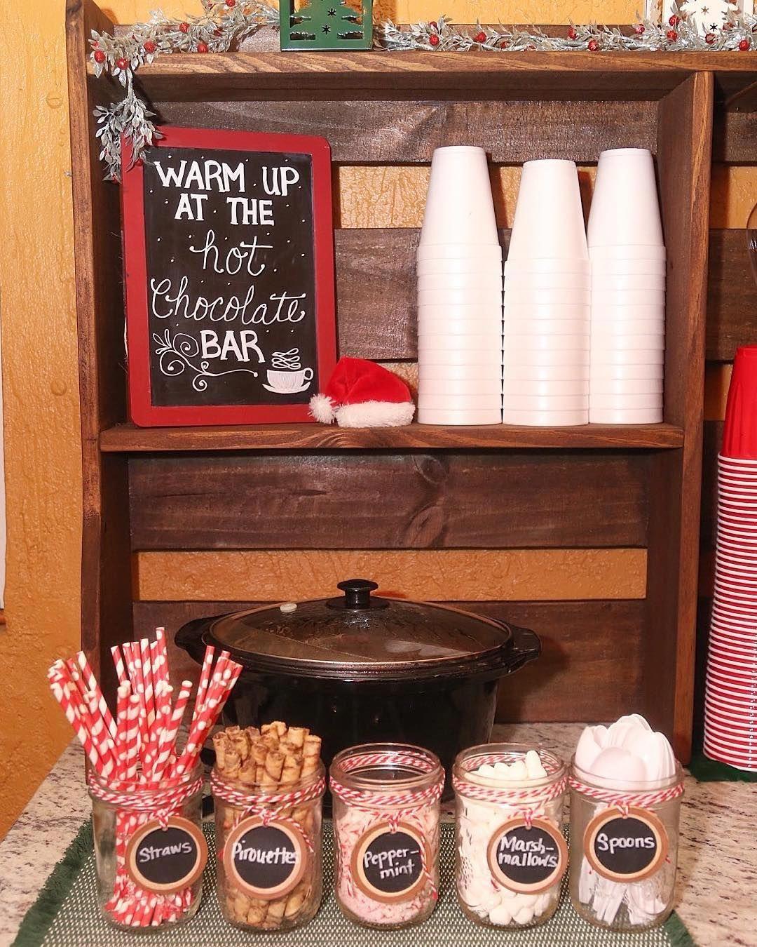 hot cocoa station #hotchocolatebar