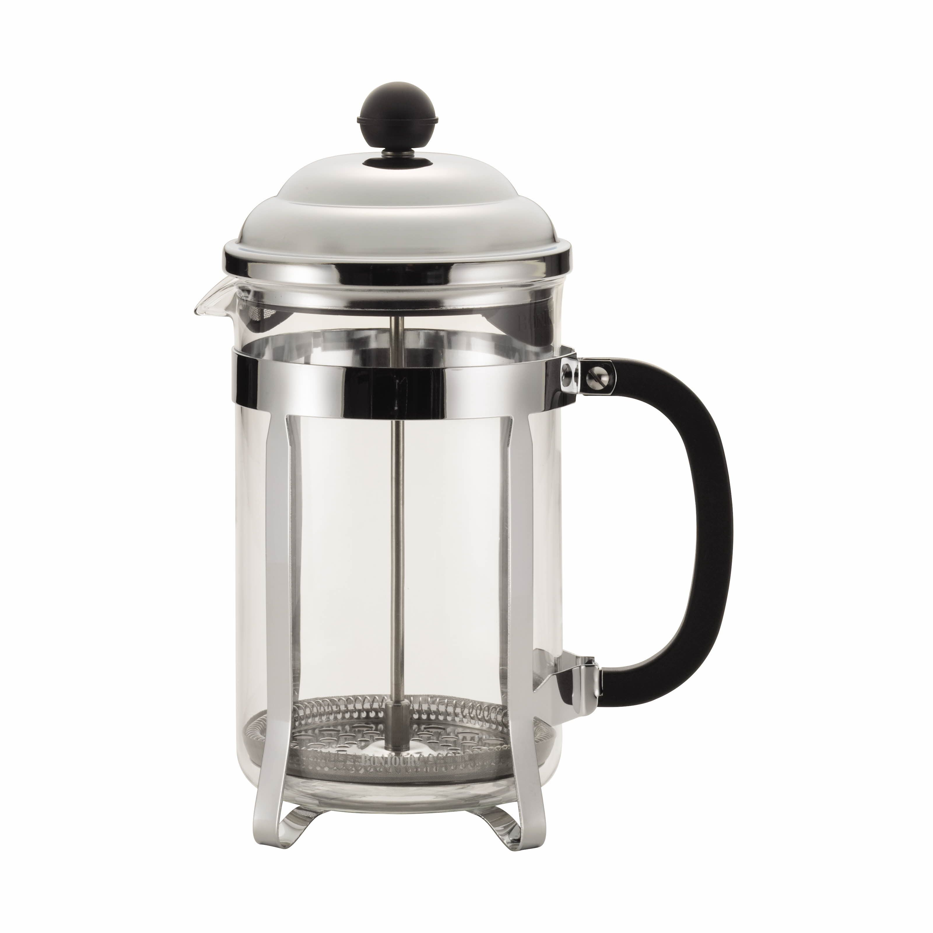 BonJour Bijoux vintagestyle French press Stainless