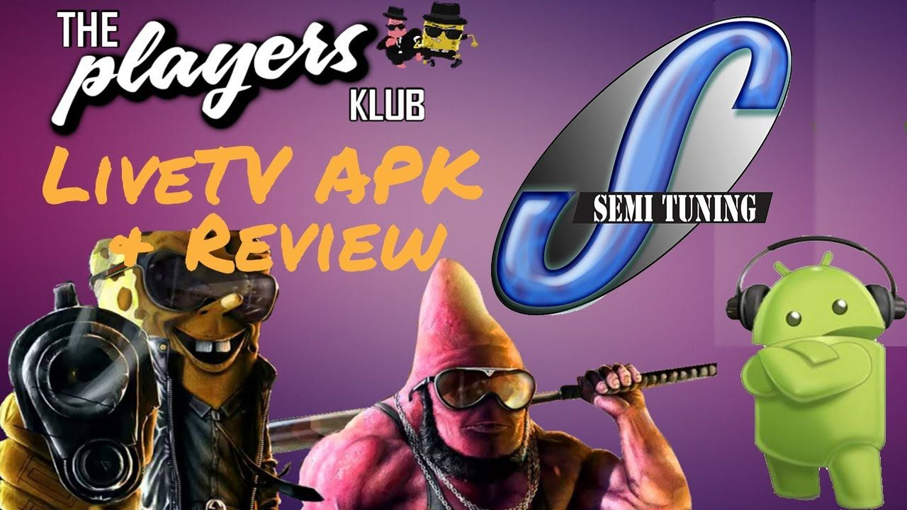 The Players Klub APK Review (LIVE TV APK) | YouTube