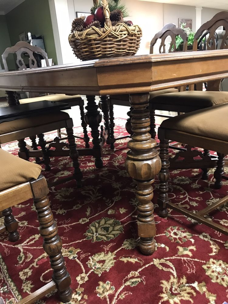 Reaser Furniture Gettysburg Pa Walnut Dining Set Table 6 Chairs 2 Pieces Ebay Furniture Dining Furniture Sets Kitchen Table Settings