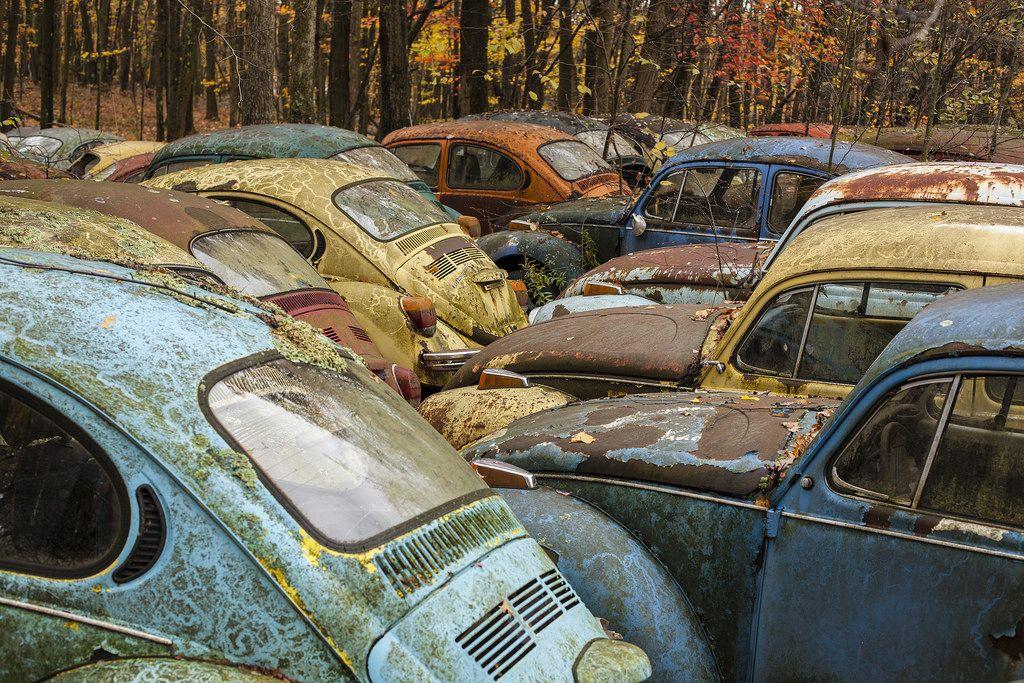 Volkswagen Graveyard Pa Oc 1024 683 R Abandonedporn Volkswagen Graveyard Abandoned