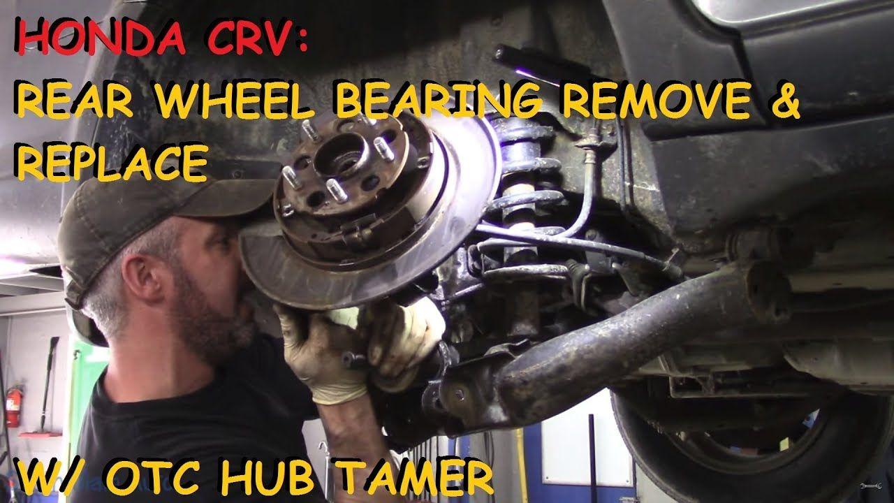 Honda crv rear wheel bearing other repairs part i http