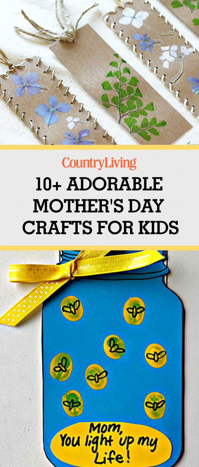 44 easy and thoughtful mother 39 s day crafts the kids can diy mother 39 s day mothers day crafts. Black Bedroom Furniture Sets. Home Design Ideas
