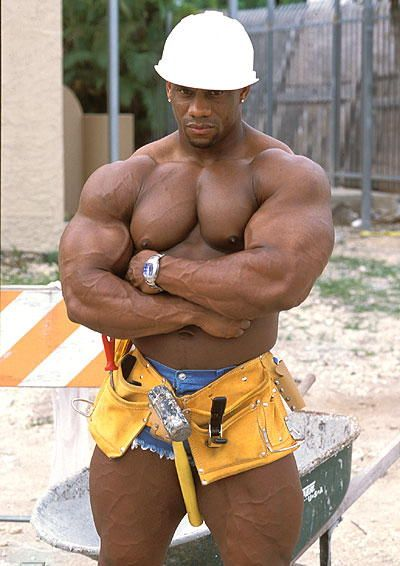Lionel Brown  Muscle Men, Bodybuilding, Muscular Men-2561