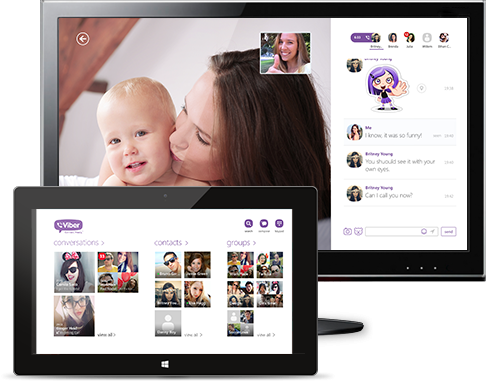 Viber for Windows Screenshots