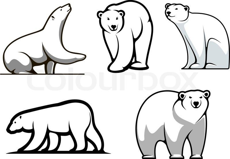 polar bear symbol - Google Search