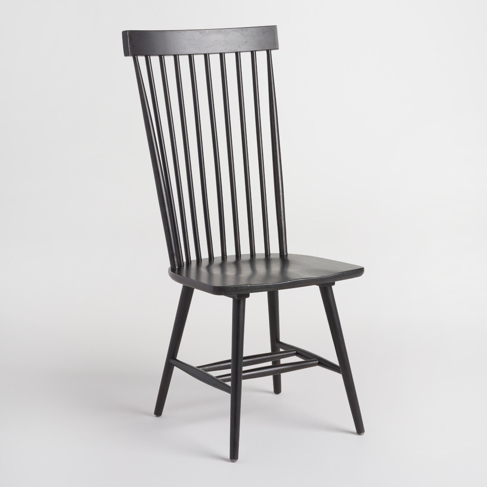 A tall take on traditional Windsor chairs our slender chairs