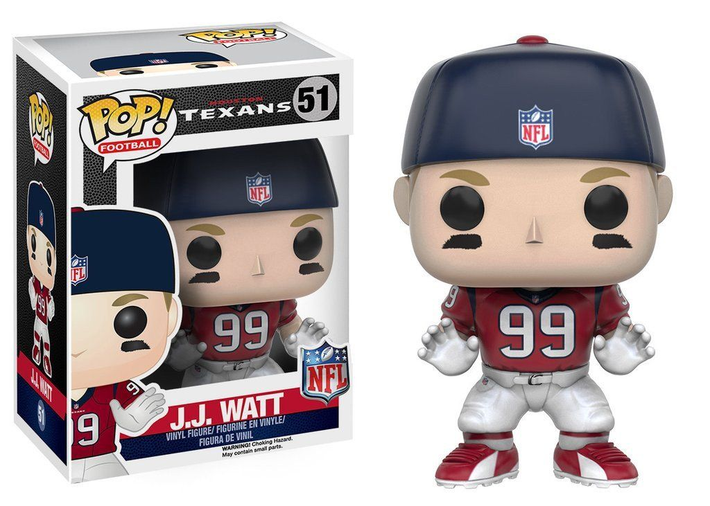 Funko POP NFL Wave 3 JJ Watt Vinyl Figure Pop figurine