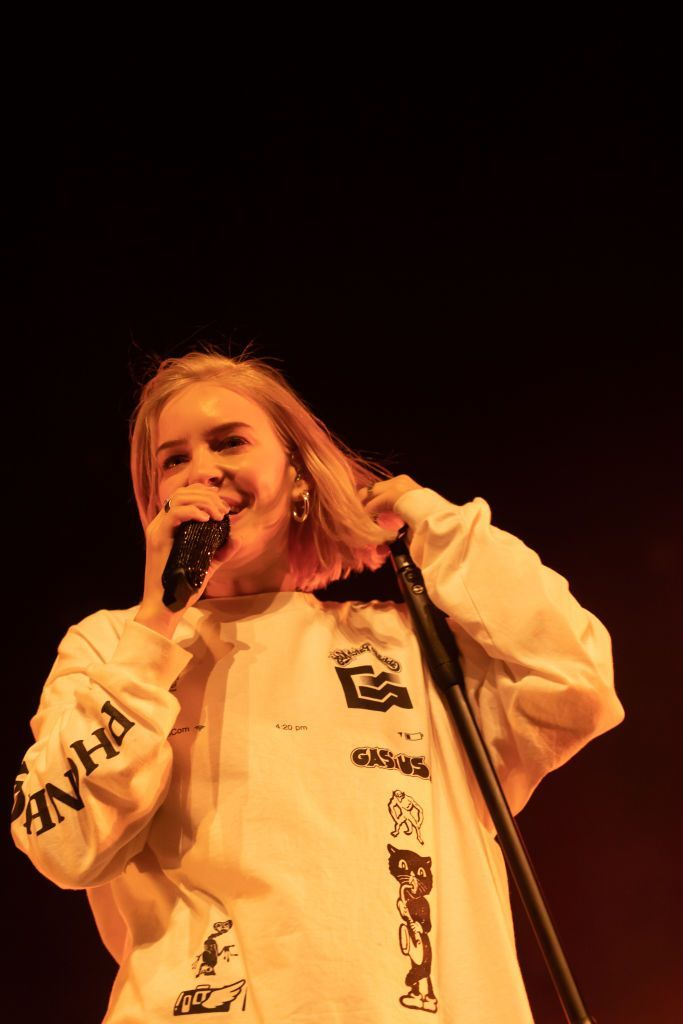 AUCKLAND, NEW ZEALAND - MARCH 28: Anne-Marie performs on stage at her first ever headline show in New Zealand at Spark Arena on March 28, 2019 in Auckland, New Zealand. (Photo by Dave Simpson/WireImage) #Celebrity babies