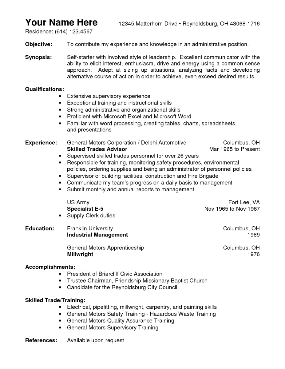 9 Warehouse Skills Resume Samples Sample Resumes