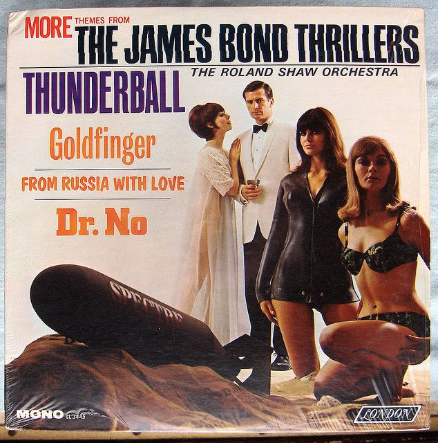 The Roland Shaw Orchestra - More Themes From the James Bond Thrillers (1966)