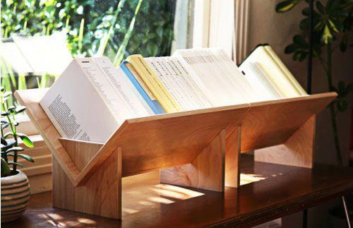 Minimalist Wooden Tabletop Bookshelf