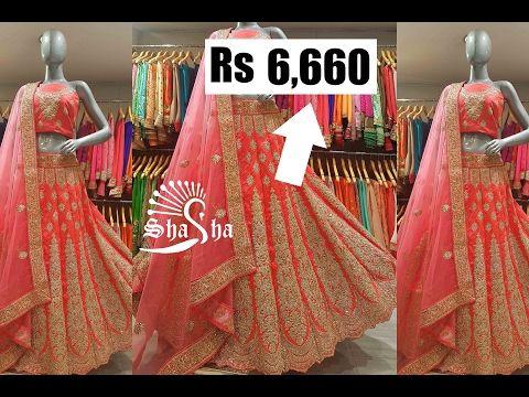 35890a5cf0 Rose Pink Designer Indo-Western Lehenga by Shasha - YouTube   Indian ...