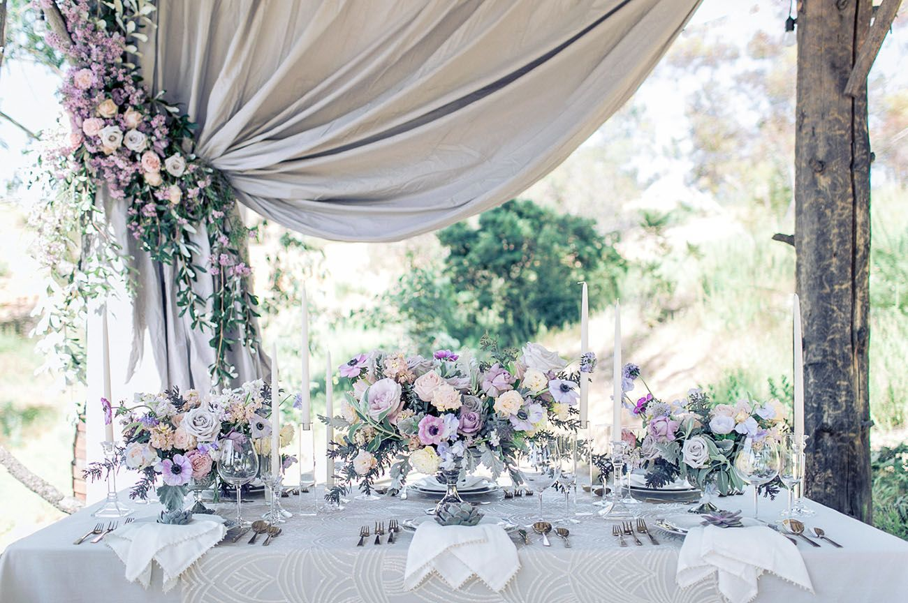 Wedding decoration ideas purple  The Most Amazing Floral Arch Weuve Ever Seen u Seriously  Green
