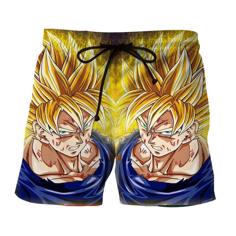 75705c249d220 Dragon Ball Goku Super Saiyan Damage Fight Reflection Style Shorts  #DragonBall #Goku #Super #Saiyan #Damage #Fight #Reflection #Style #Shorts