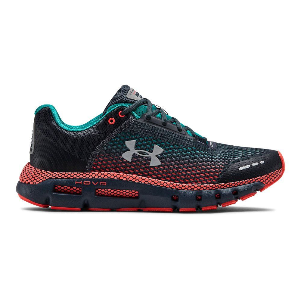 Under Armour Mens Hovr Infinite Running Shoes Trainers Sneakers Black White