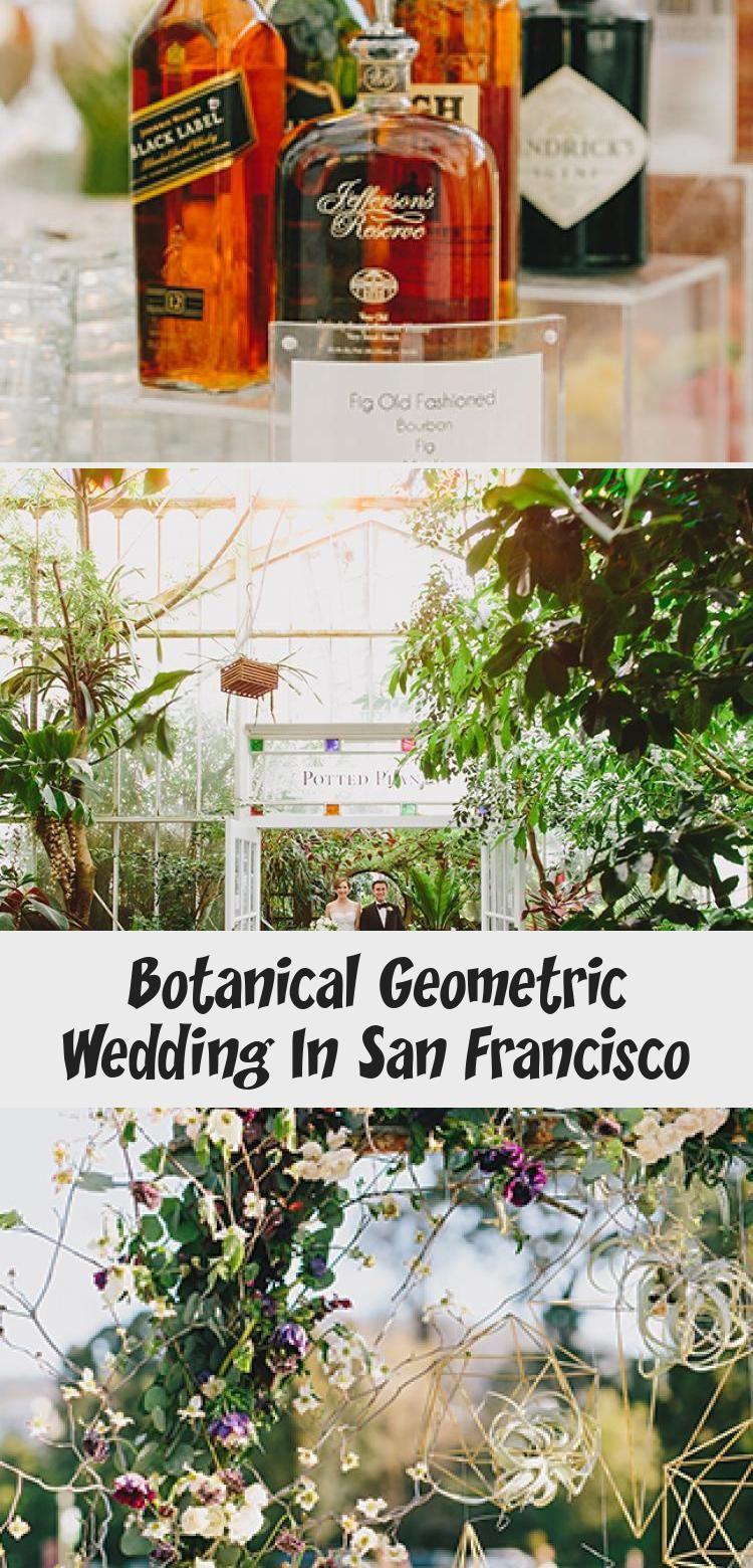 Botanical Geometric Wedding Rusticgardenwedding