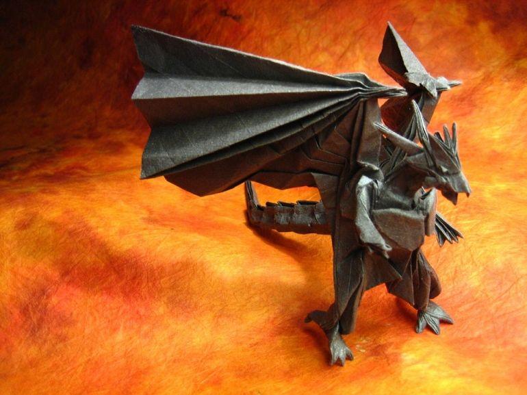 Divine Dragon Origami Pdf