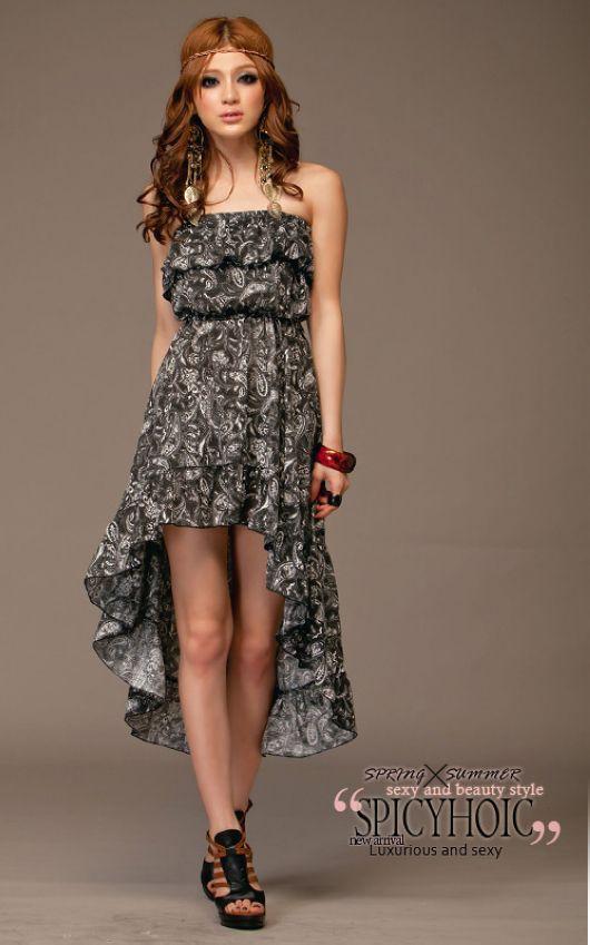 Asymmetrical Hemline Dresses