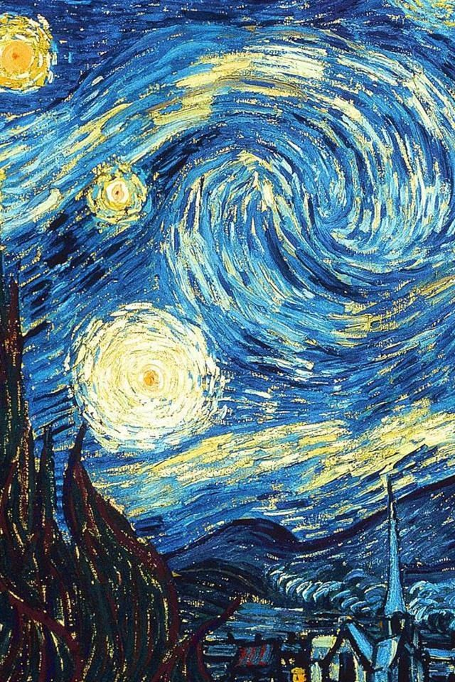 Starry Night By Van Gogh My Most Favorite Painting Of All Time