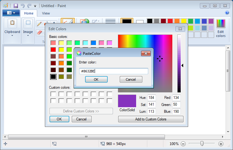 Pastecolor The Portable Freeware Collection Freeware Free Tools Computer Software