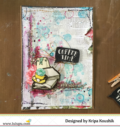 Lulupu - The Craft Lounge: Sparkle and Shine - Coffee Cards