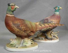 2 pc Tiny Pheasants