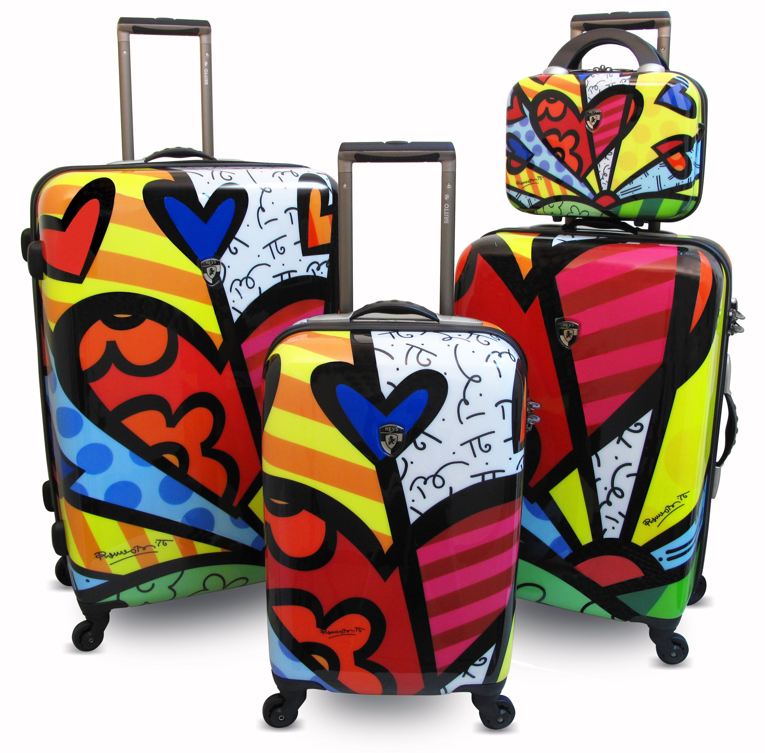 Britto Collection by Heys USA. Love this. You would definitely see ...