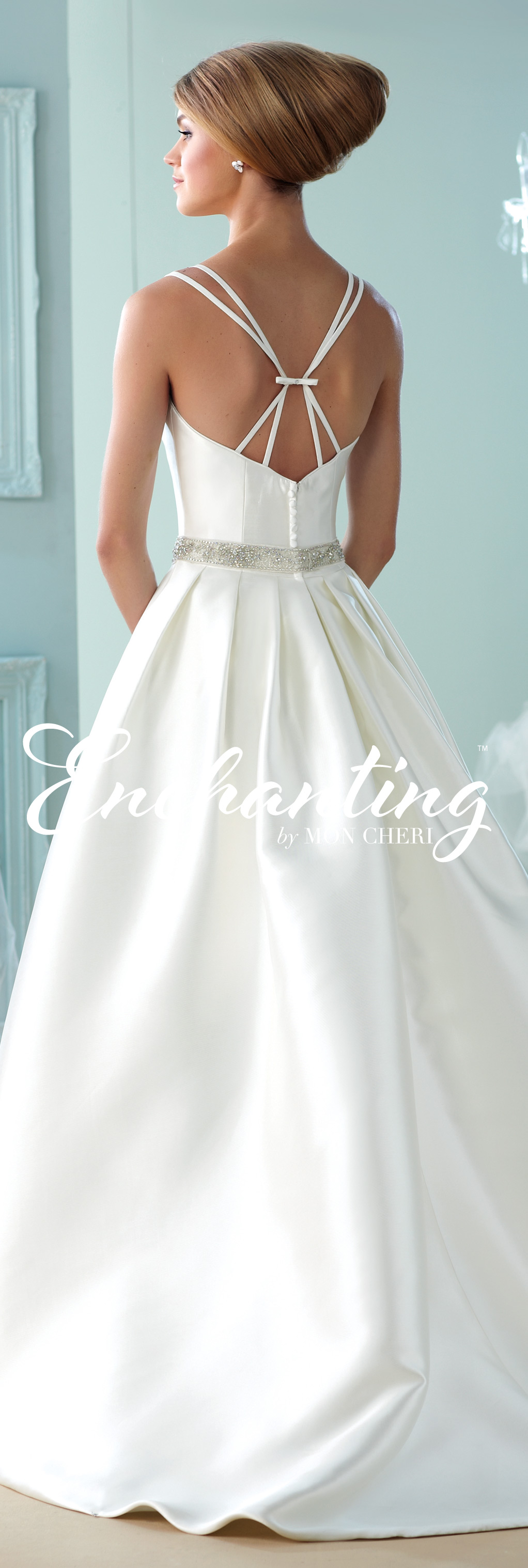 Modern wedding dresses by mon cheri wedding dress wedding