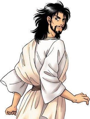 Anime Manga Jesus Jesus Cartoon Jesus Pictures Cartoon Pics