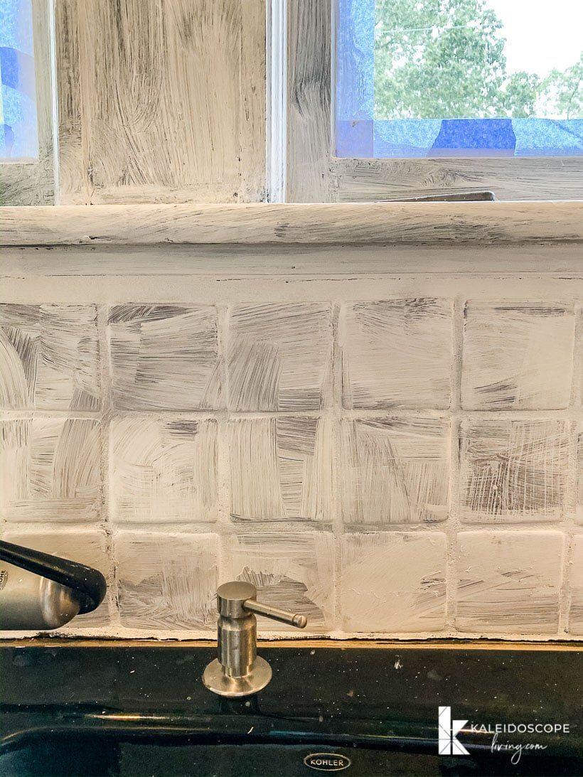 How to Paint Your Tile Backsplash in 5 Simple Steps