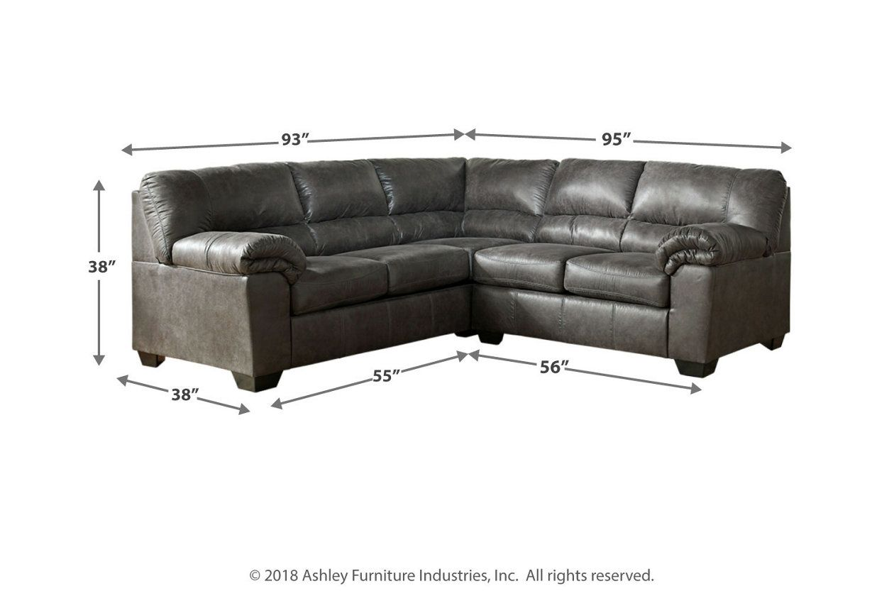 Best Bladen 2 Piece Sectional Sectional Most Comfortable Couch 640 x 480