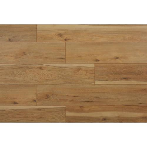 Lawrenceville Hickory 8 03 In W X 3 96 Ft L Smooth Wood Plank Laminate Flooring Lowes Com Laminate Flooring Wood Planks Wood