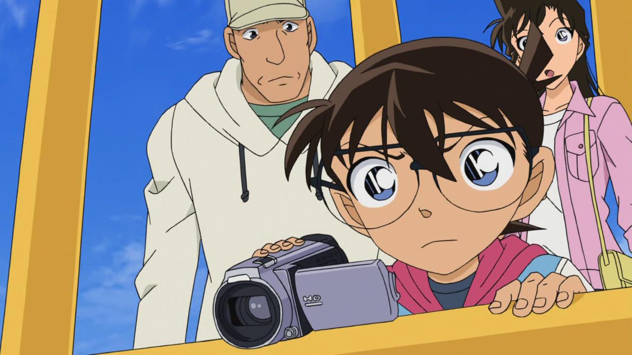 Detective Conan Episode 838 Mysterious Case in a Hot