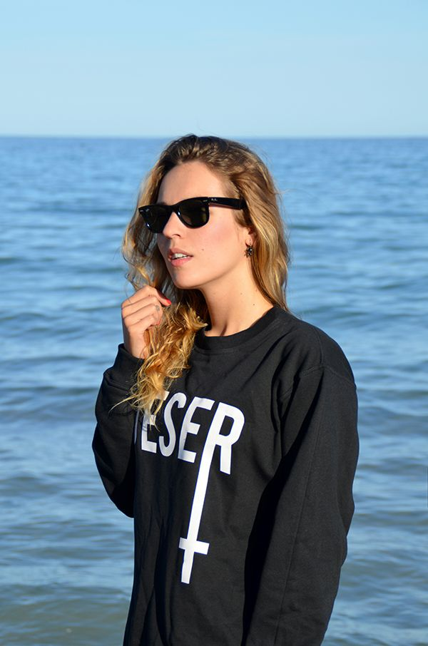 StreetStyle Sudadera Deser  bloggermoda.es El blog de Luceral