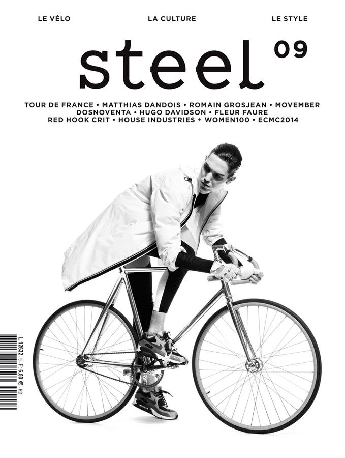 Steel / magazine cover / editorial design / magazine