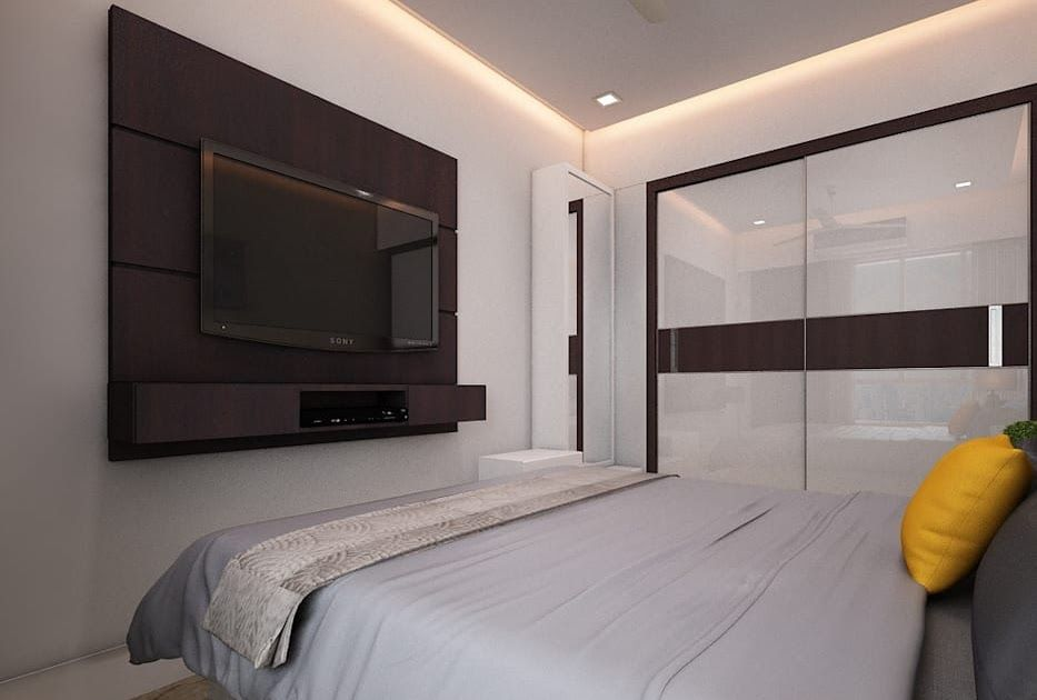 Master Bedroom Tv Unit Modern Style Bedroom By The Inside Best Modern Tv Cabinets Designs Stand Bedr In 2020