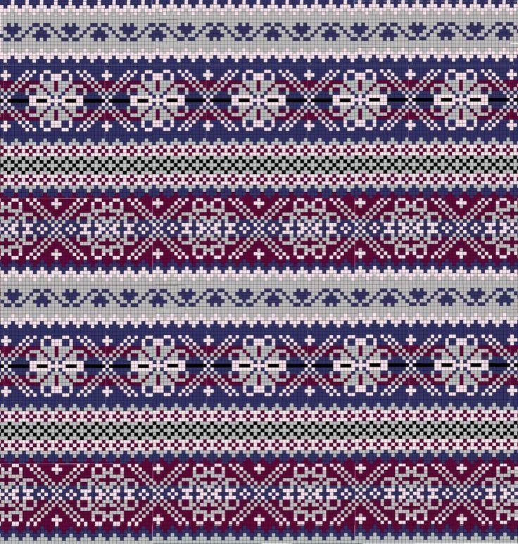Image result for fair isle knitting free charts | fair isle ...