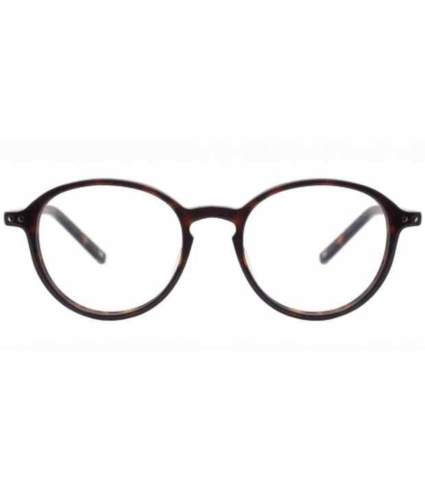 619879bd Tommy Hilfiger Golden Non Metal Round Eye Glasses | Frame that ...