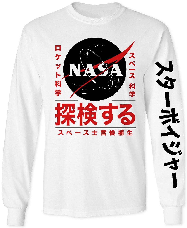 6be7115d Changes NASA Men's Long-Sleeve T-Shirt - T-Shirts - Men - Macy's ...