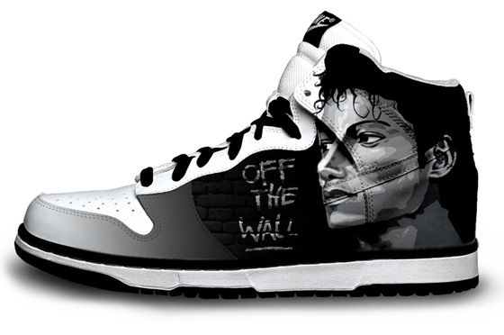 fde31192e3b Michael Jackson Off the Wall Nike Sneaker | Just Things | Michael ...