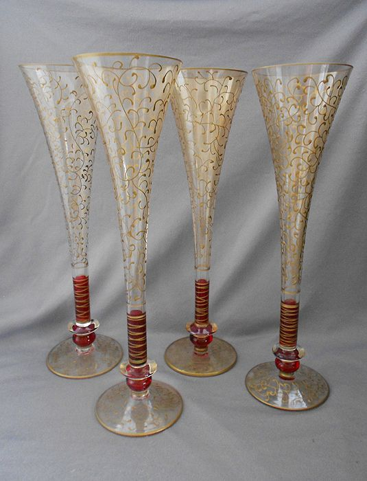 Glassware Mugs At Cool Old Stuff For Sale Vintage Collectibles Glass Champagne Flutes Champagne Flutes Glassware