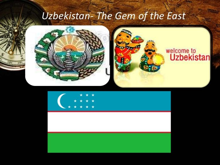 Country presentation: Presents geographical facts, culture - traditions, holidays, education and pictures of Uzbekistan.