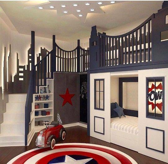Schönes Jungenzimmer, wunderbare Möbelanpassung / Belle chambre de ...  #belle #chambre #jungenzimmer #mobelanpassung #schones #wunderbare #boy #girl #decoridea #kidsbedroomsandthings